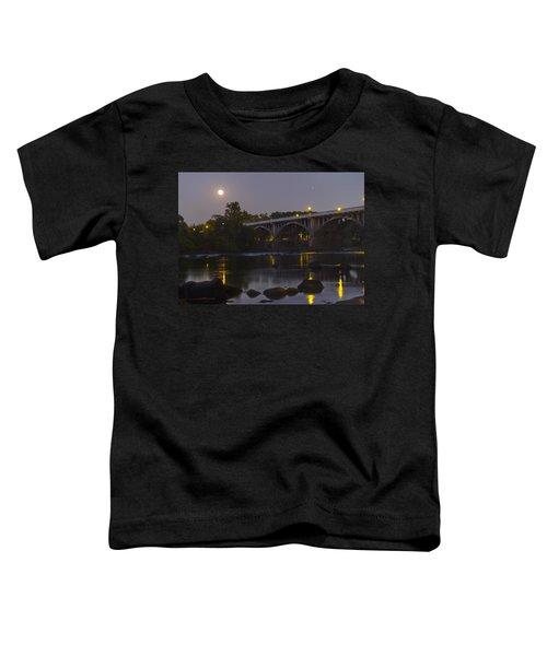 Full Moon And Jupiter-1 Toddler T-Shirt