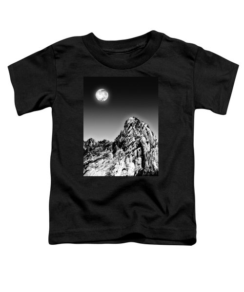 Full Moon Over The Suicide Rock Toddler T-Shirt