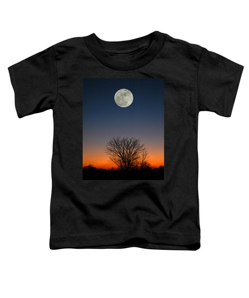 Full Moon Rising Toddler T-Shirt