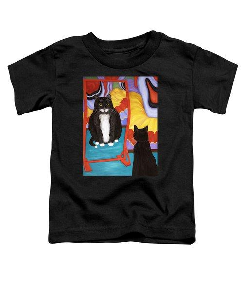 Fun House Fat Cat Toddler T-Shirt