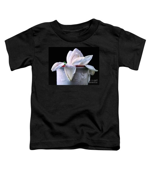 Gardenia In Coffee Cup Toddler T-Shirt
