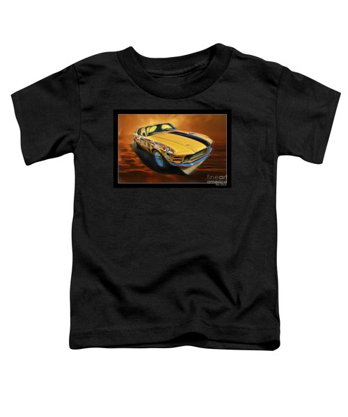 George Follmer 1970 Boss 302 Ford Mustang Toddler T-Shirt