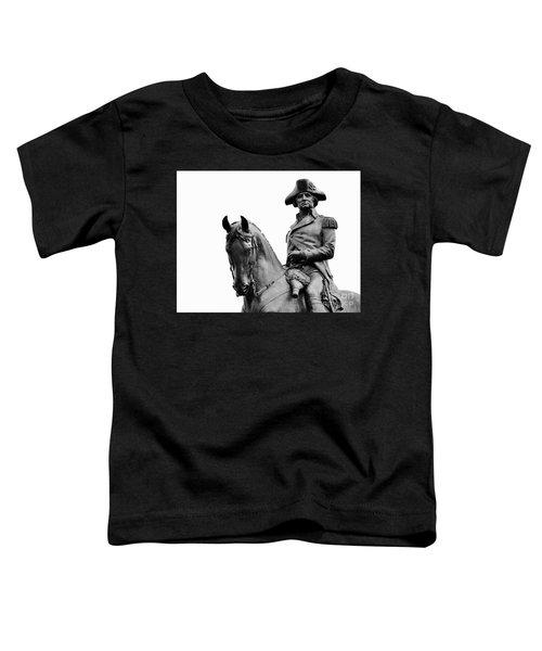 George Washington Statue Boston Ma Toddler T-Shirt