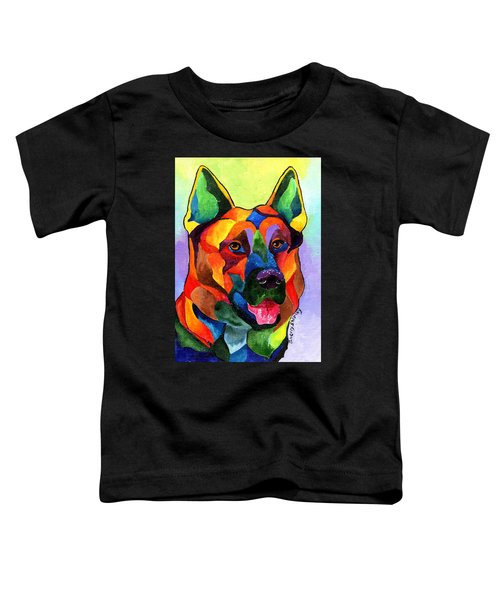 German Shepherd Toddler T-Shirt