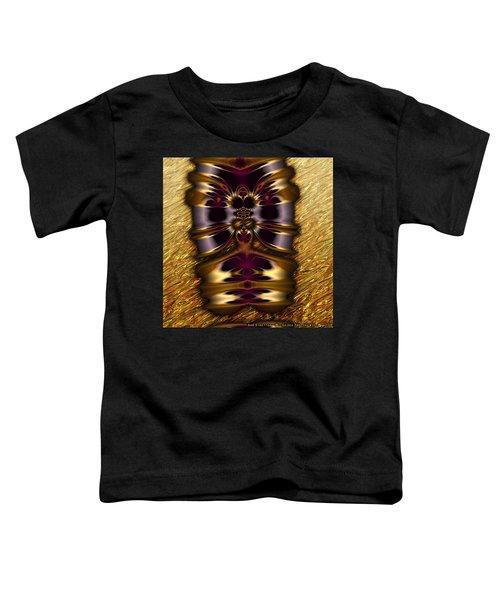 Gilded Fractal 11  Toddler T-Shirt
