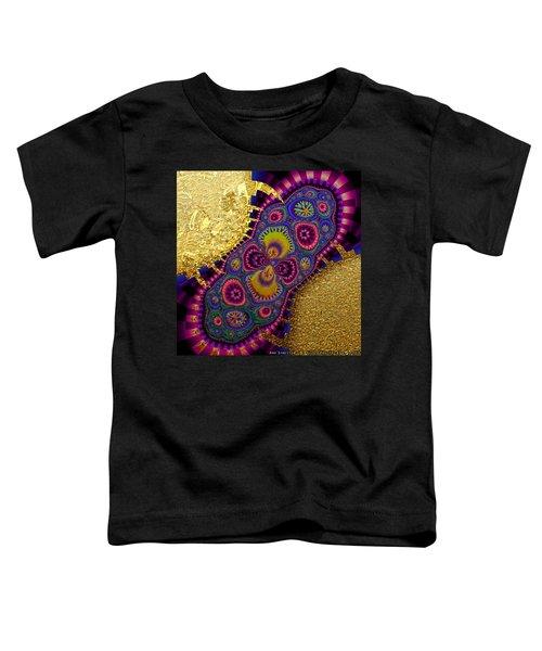 Gilded Fractal 3  Toddler T-Shirt