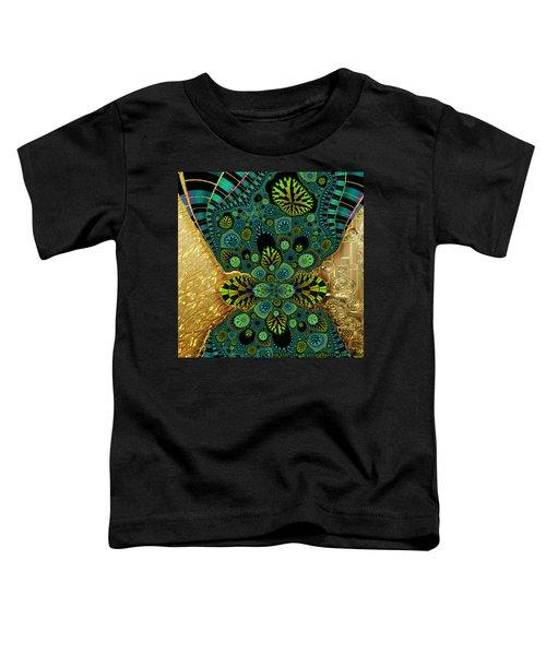 Gilded Fractal 5  Toddler T-Shirt