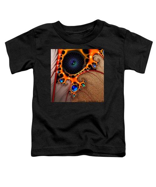 Gilded Fractal 7  Toddler T-Shirt