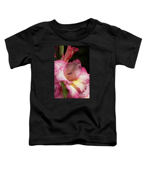 Gladiolus In Pink Toddler T-Shirt