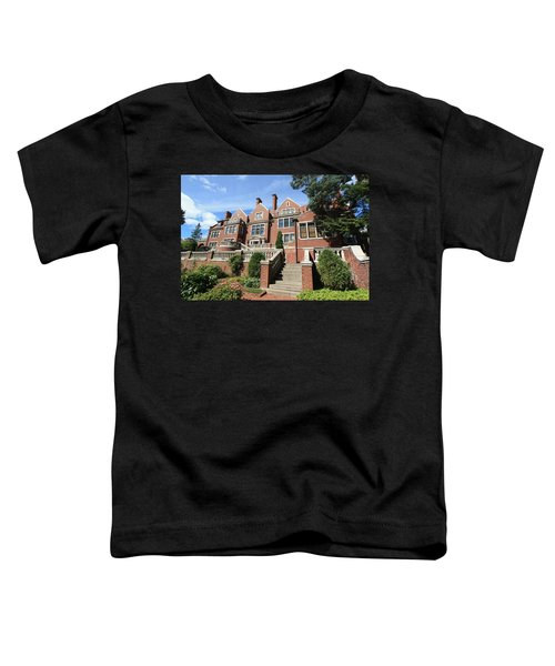 Glensheen Mansion Exterior Toddler T-Shirt by Amanda Stadther