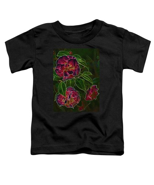 Glowing Camellia Toddler T-Shirt