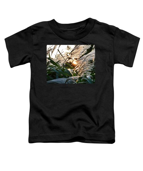 Glowing Pampas Toddler T-Shirt