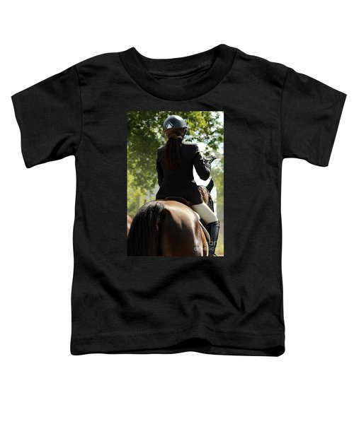 Going Over The Course Toddler T-Shirt