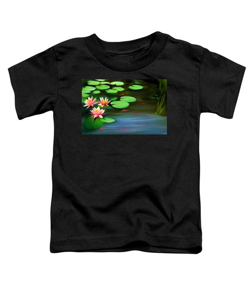 Gold Fish Pond Toddler T-Shirt