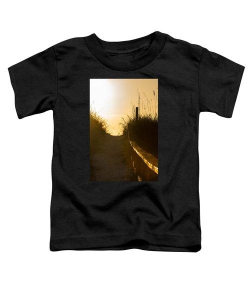 Golden Beach Access Toddler T-Shirt