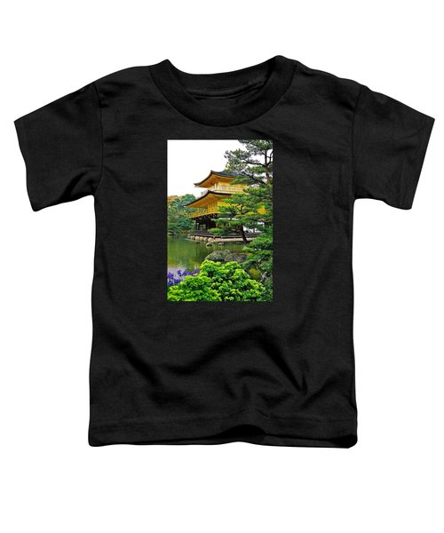 Golden Pavilion - Kyoto Toddler T-Shirt