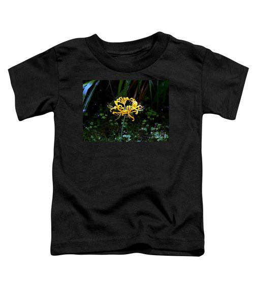 Golden Spider Lily Toddler T-Shirt