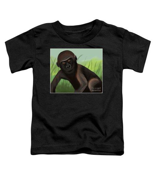 Gorilla Greatness Toddler T-Shirt