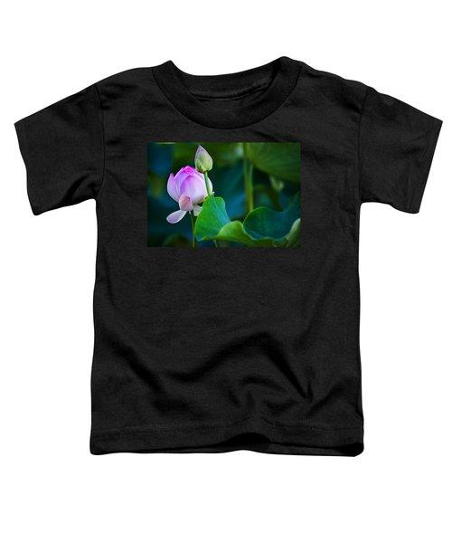 Graceful Lotus. Pamplemousses Botanical Garden. Mauritius Toddler T-Shirt