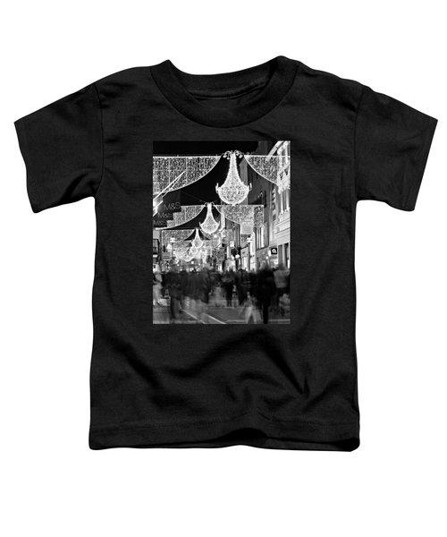 Grafton Street At Christmas / Dublin Toddler T-Shirt
