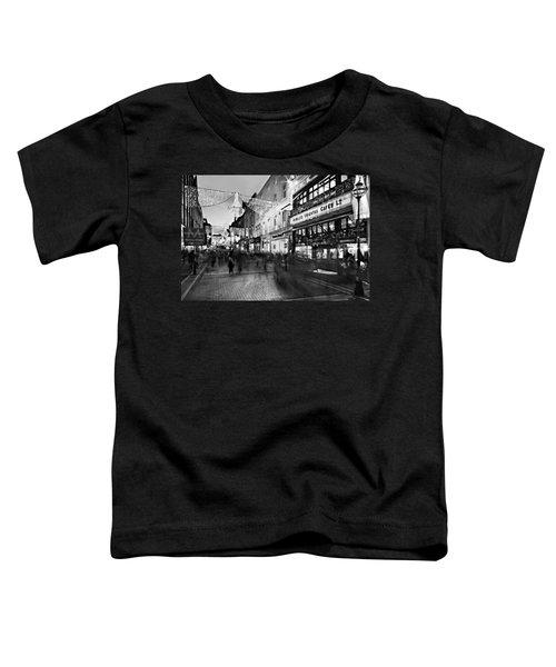 Grafton Street At Night / Dublin Toddler T-Shirt