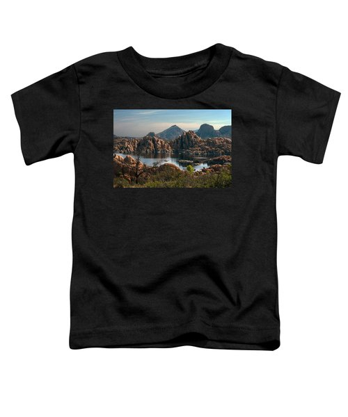 Granite Dells At Watson Lake Toddler T-Shirt