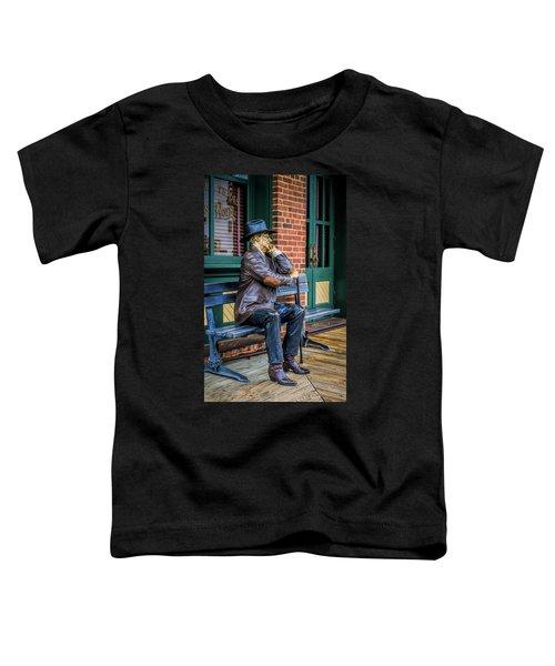 Grapevine Cowboy Toddler T-Shirt