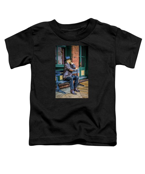 Grapevine Cowboy Toddler T-Shirt