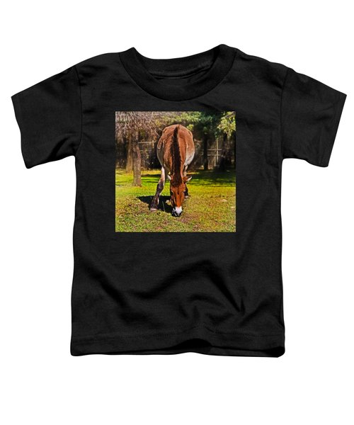 Grazing With An Attitude Toddler T-Shirt