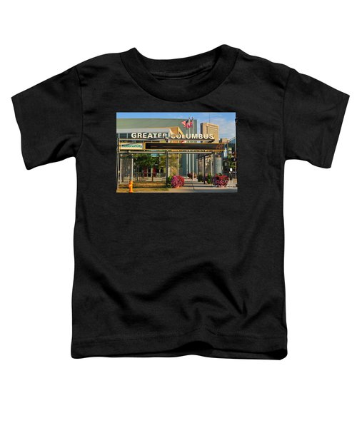 D8l-245 Greater Columbus Convention Center Photo Toddler T-Shirt