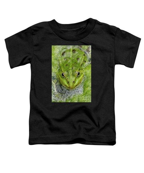 Green Frog Toddler T-Shirt