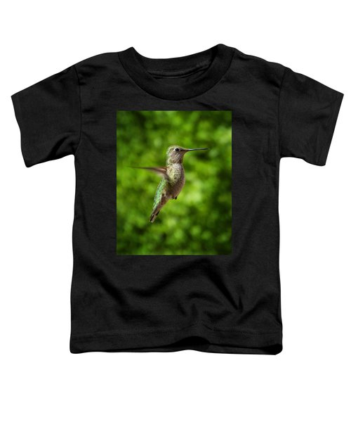 Green Hummingbird Toddler T-Shirt