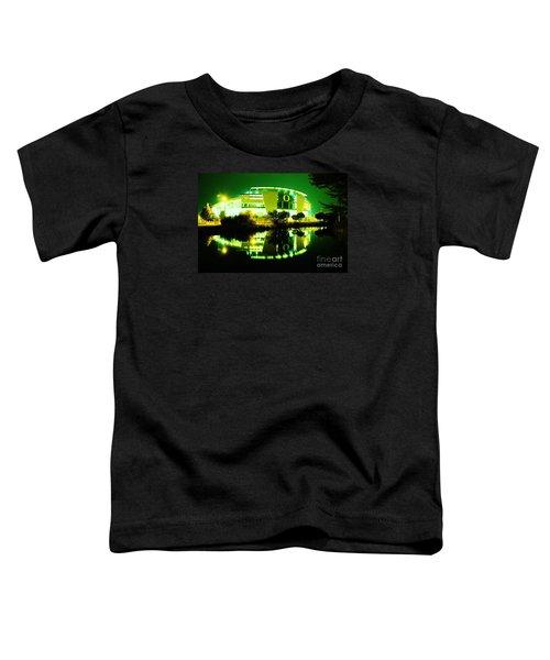 Green Power- Autzen At Night Toddler T-Shirt