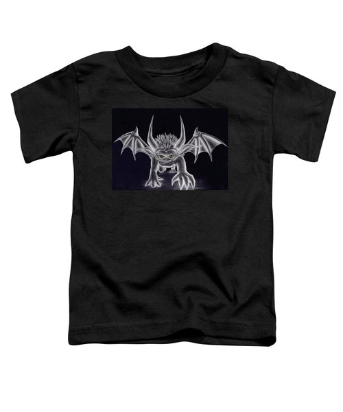 Toddler T-Shirt featuring the painting Grevil Silvered by Shawn Dall