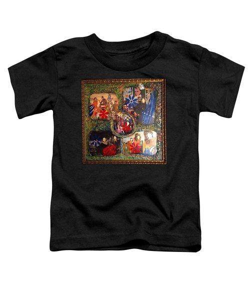 Groovy Celebrations By Alfredo Garcia Toddler T-Shirt