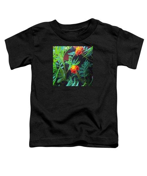 Beautiful Marigolds Toddler T-Shirt