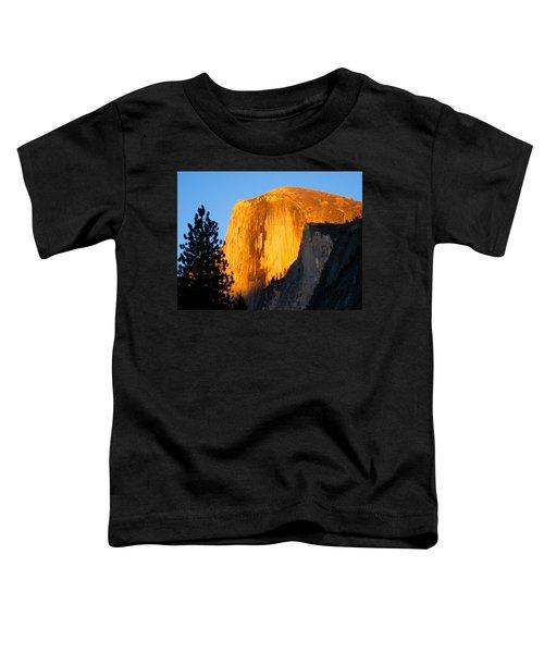 Half Dome Yosemite At Sunset Toddler T-Shirt