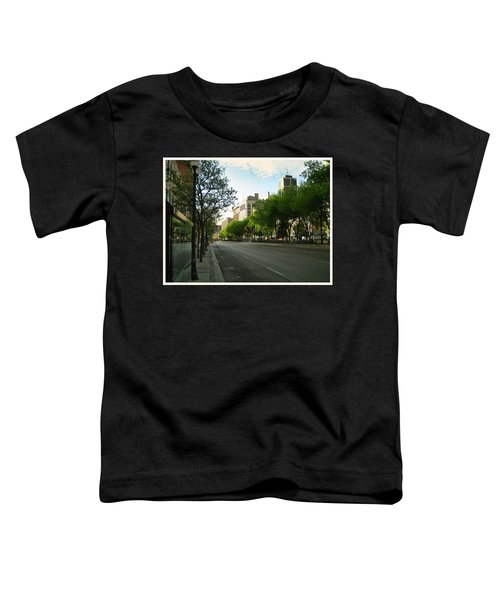 Toddler T-Shirt featuring the photograph Hamilton At Dawn by Shawn Dall