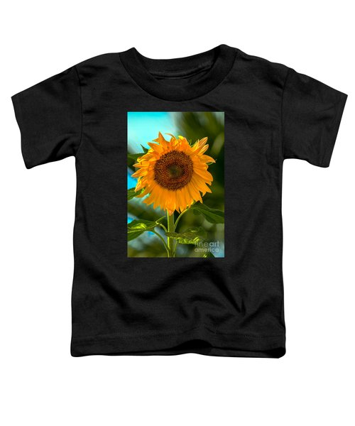 Happy Sunflower Toddler T-Shirt