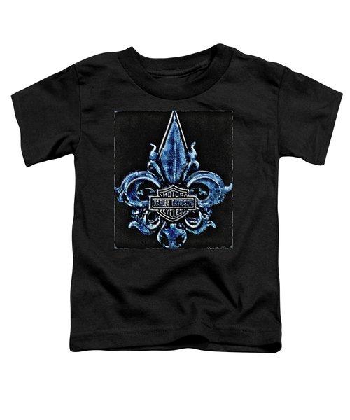 Harley Davidson Fleur De Lys Logo Toddler T-Shirt