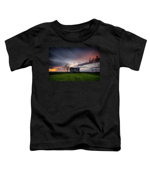 Haunted Sunset Toddler T-Shirt