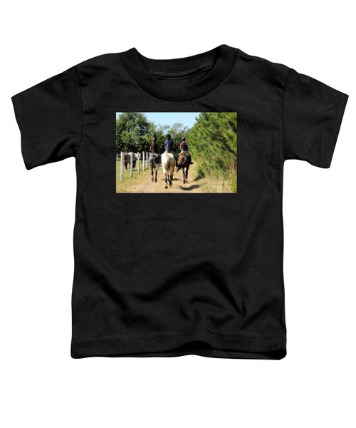 Heading To The Cross Country Course Toddler T-Shirt