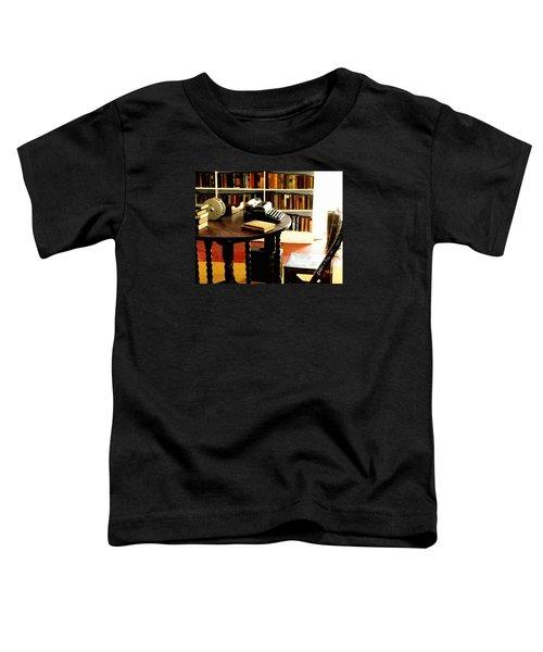 Hemingway's Studio Ernest Hemingway Key West Toddler T-Shirt