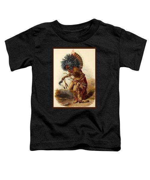 Hidatsa Warrior Toddler T-Shirt