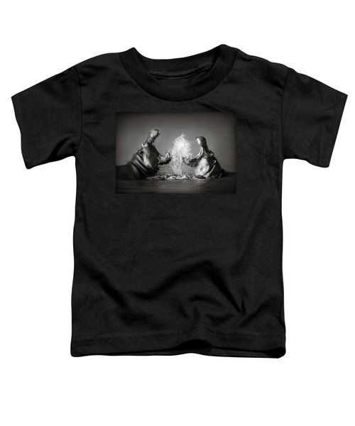 Hippo's Fighting Toddler T-Shirt