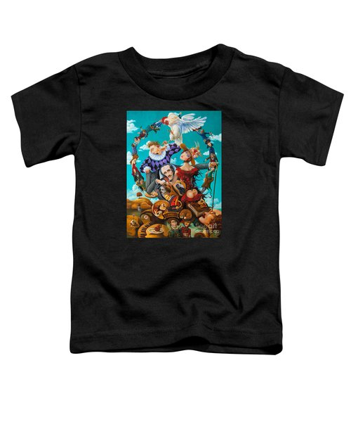 His Majesty Edgar Allan Poe Toddler T-Shirt
