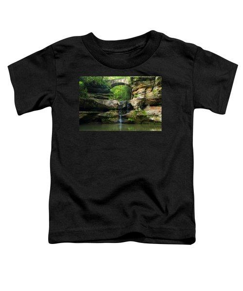 Hocking Hills Waterfall 1 Toddler T-Shirt