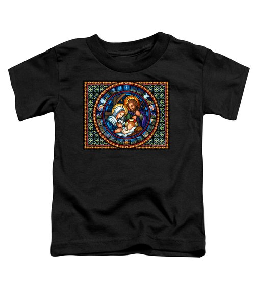 Holy Family Christmas Story Toddler T-Shirt