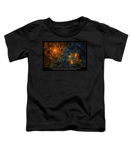 Home With Him Toddler T-Shirt