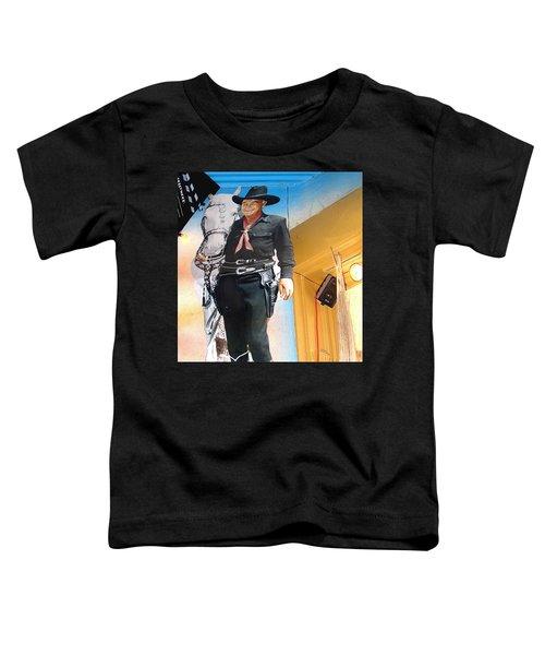 Hopalong Cassidy Cardboard Cut-out Tombstone Arizona 2004 Toddler T-Shirt